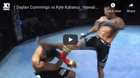 1 Daylan Cummings vs Kyle Kahanui Hawaii MMA