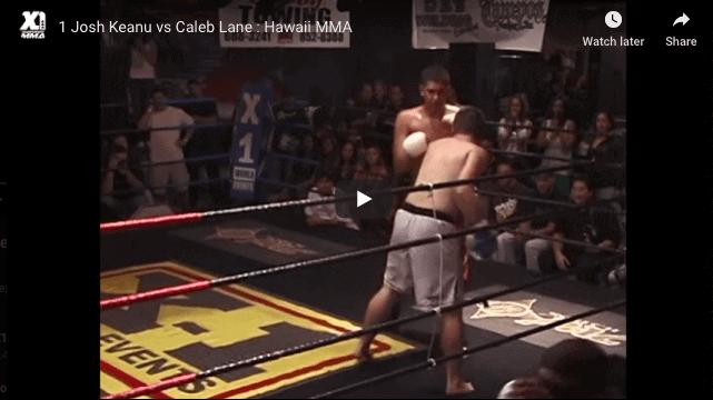 1 Josh Keanu vs Caleb Lane : Hawaii MMA