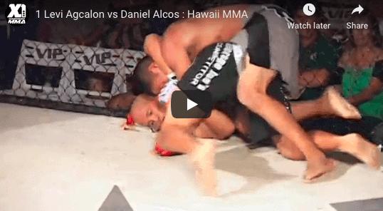 1 Levi Agcalon vs Daniel Alcos Hawaii MMA