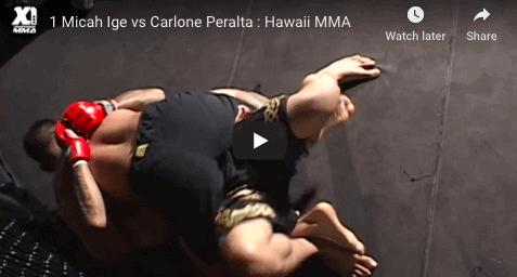 1 Micah Ige vs Carlone Peralta : Hawaii MMA