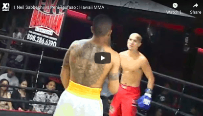 1 Neil Sabbaghi vs Peni Taufaao : Hawaii MMA