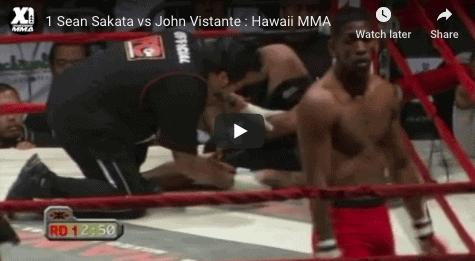 1 Sean Sakata vs John Vistante : Hawaii MMA