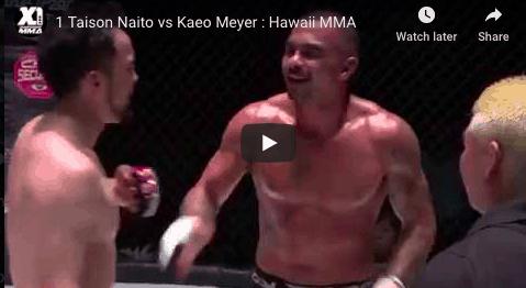 1 Taison Naito vs Kaeo Meyer : Hawaii MMA