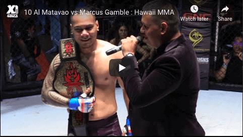 10 Al Matavao vs Marcus Gamble : Hawaii MMA