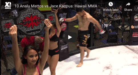 10 Analu Mattos vs Jace Kaopua: Hawaii MMA