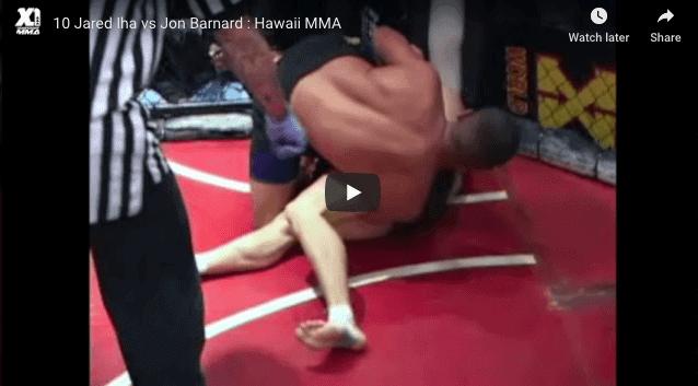 10 Jared Iha vs Jon Barnard HAWAII MMA