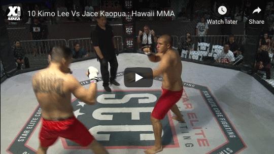 10 Kimo Lee Vs Jace Kaopua : Hawaii MMA