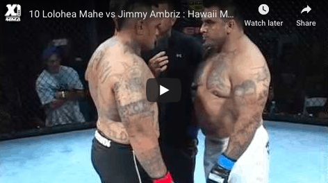 10 Lolohea Mahe vs Jimmy Ambriz : Hawaii MMA