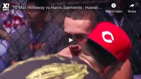 10 Max Holloway vs Harris Sarmiento : Hawaii MMA