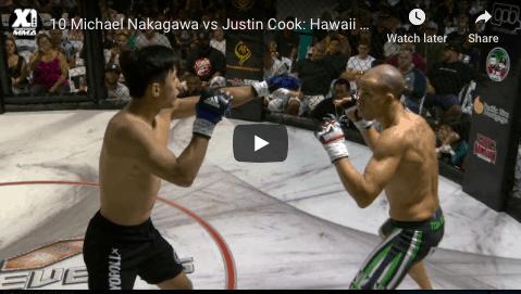 10 Michael Nakagawa vs Justin Cook: Hawaii MMA