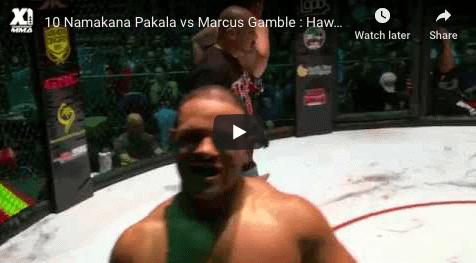 10 Namakana Pakala vs Marcus Gamble Hawaii MMA