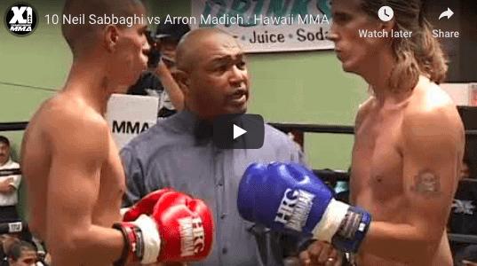 10 Neil Sabbaghi vs Arron Madich : Hawaii MMA