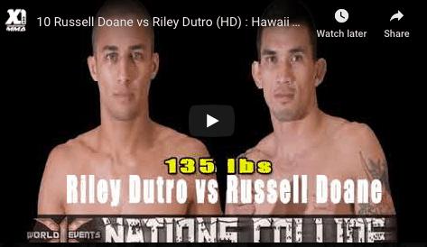 10 Russell Doane vs Riley Dutro (HD) : Hawaii MMA