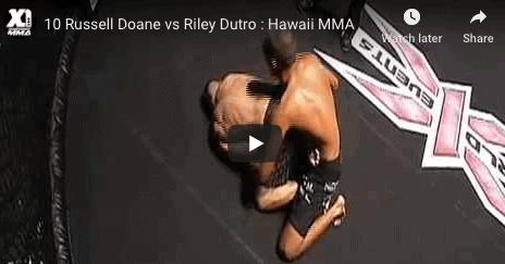 10 Russell Doane vs Riley Dutro : Hawaii MMA