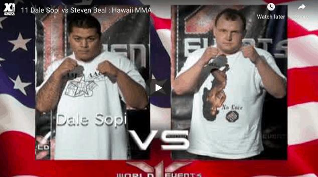 11 Dale Sopi vs Steven Beal : Hawaii MMA