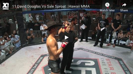 11 David Douglas Vs Sale Sproat : Hawaii MMA