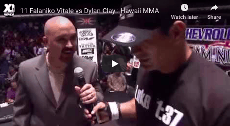 11 Falaniko Vitale vs Dylan Clay : Hawaii MMA