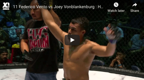 11 Federico Vento vs Joey Vonblankenburg : Hawaii MMA