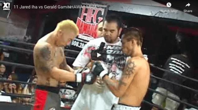 11 Jared Iha vs Gerald Gamit HAWAII MMA