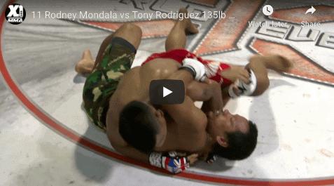 11 Rodney Mondala vs Tony Rodriguez 135lb World Title Fight: Hawaii MMA