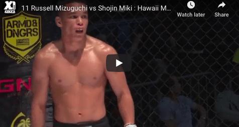 11 Russell Mizuguchi vs Shojin Miki : Hawaii MMA