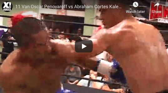 11 Van Oscar Penovaroff vs Abraham Cortes Kaleopa : Hawaii MMA