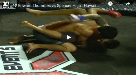 12 Edward Thommes vs Spencer Higa : Hawaii MMA