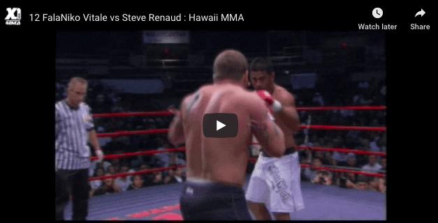 12 FalaNiko Vitale vs Steve Renaud Hawaii MMA