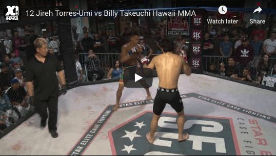 12 Jireh Torres-Umi vs Billy Takeuchi Hawaii MMA