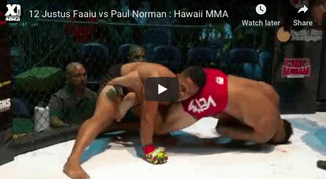 12 Justus Faaiu vs Paul Norman Hawaii MMA