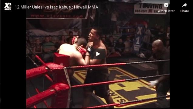 12 Miller Ualesi vs Isac Kahue : Hawaii MMA