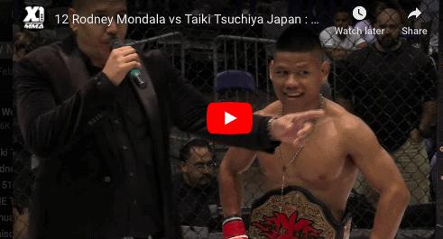 12 Rodney Mondala vs Taiki Tsuchiya Japan : Hawaii MMA