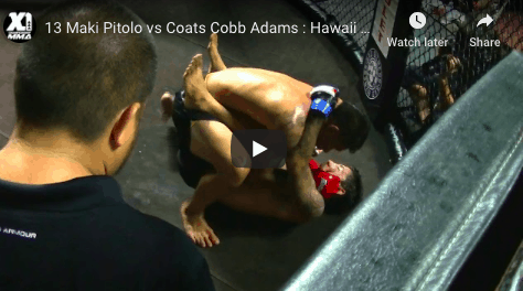 13 Maki Pitolo vs Coats Cobb Adams : Hawaii MMA