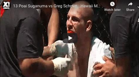 13 Poai Suganuma vs Greg Schmitt : Hawaii MMA