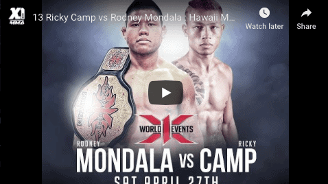13 Ricky Camp vs Rodney Mondala : Hawaii MMA