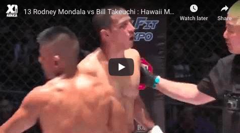 13 Rodney Mondala vs Bill Takeuchi Hawaii MMA