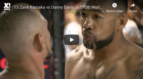13 Zane Kamaka vs Danny Davis Jr 170lb World Title Fight :Hawaii MMA