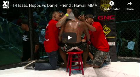 14 Isaac Hopps vs Daniel Friend : Hawaii MMA