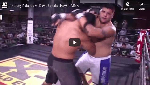 14 Joey Palamia vs David Untala : Hawaii MMA