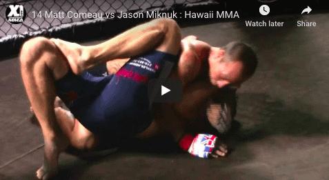 14 Matt Comeau vs Jason Miknuk : Hawaii MMA