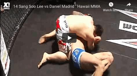 14 Sang Soo Lee vs Daniel Madrid : Hawaii MMA