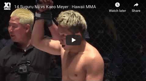 14 Suguru Nii vs Kaeo Meyer : Hawaii MMA