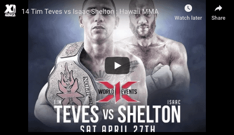 14 Tim Teves vs Isaac Shelton : Hawaii MMA