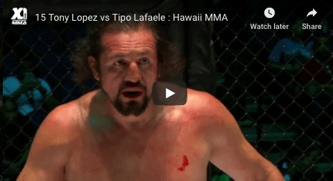 15 Tony Lopez vs Tipo Lafaele : Hawaii MMA