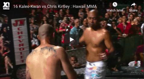 16 Kaleo Kwan vs Chris Kirtley : Hawaii MMA