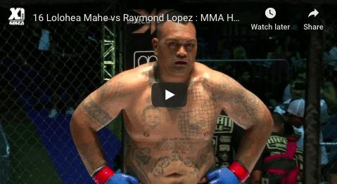 16 Lolohea Mahe vs Raymond Lopez : MMA Hawaii