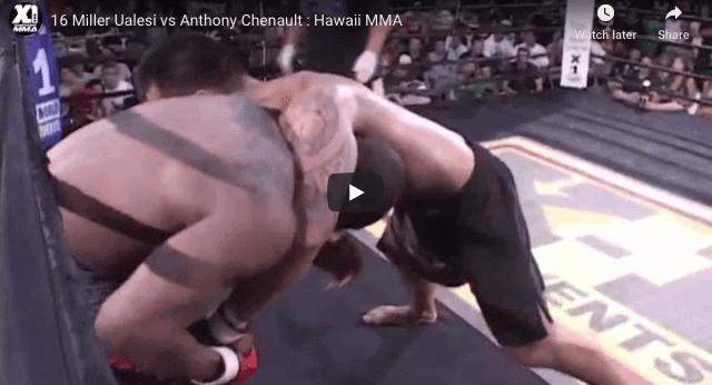 16 Miller Ualesi vs Anthony Chenault : Hawaii MMA