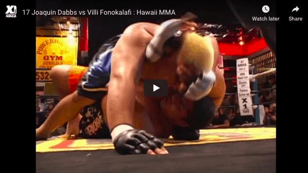 17 Joaquin Dabbs vs Villi Fonokalafi : Hawaii MMA