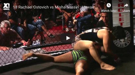 18 Rachael Ostovich vs Misha Nassiri : Hawaii MMA