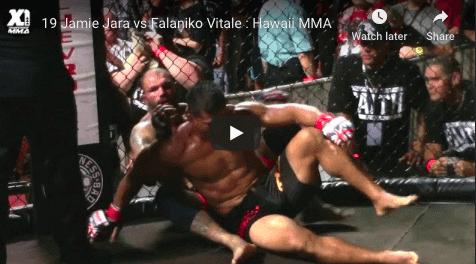 19 Jamie Jara vs Falaniko Vitale : Hawaii MMA